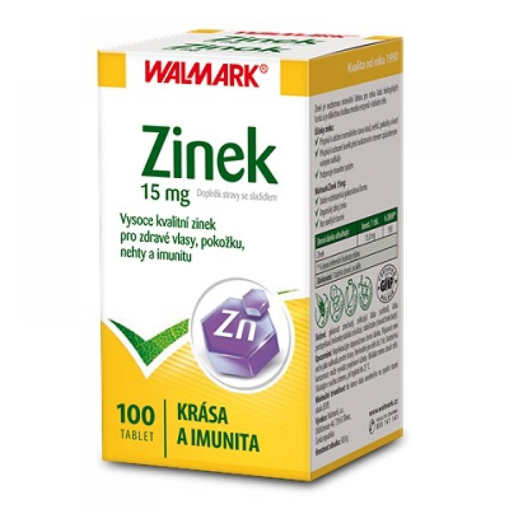 WALMARK Zinek 15 mg 100 tablet