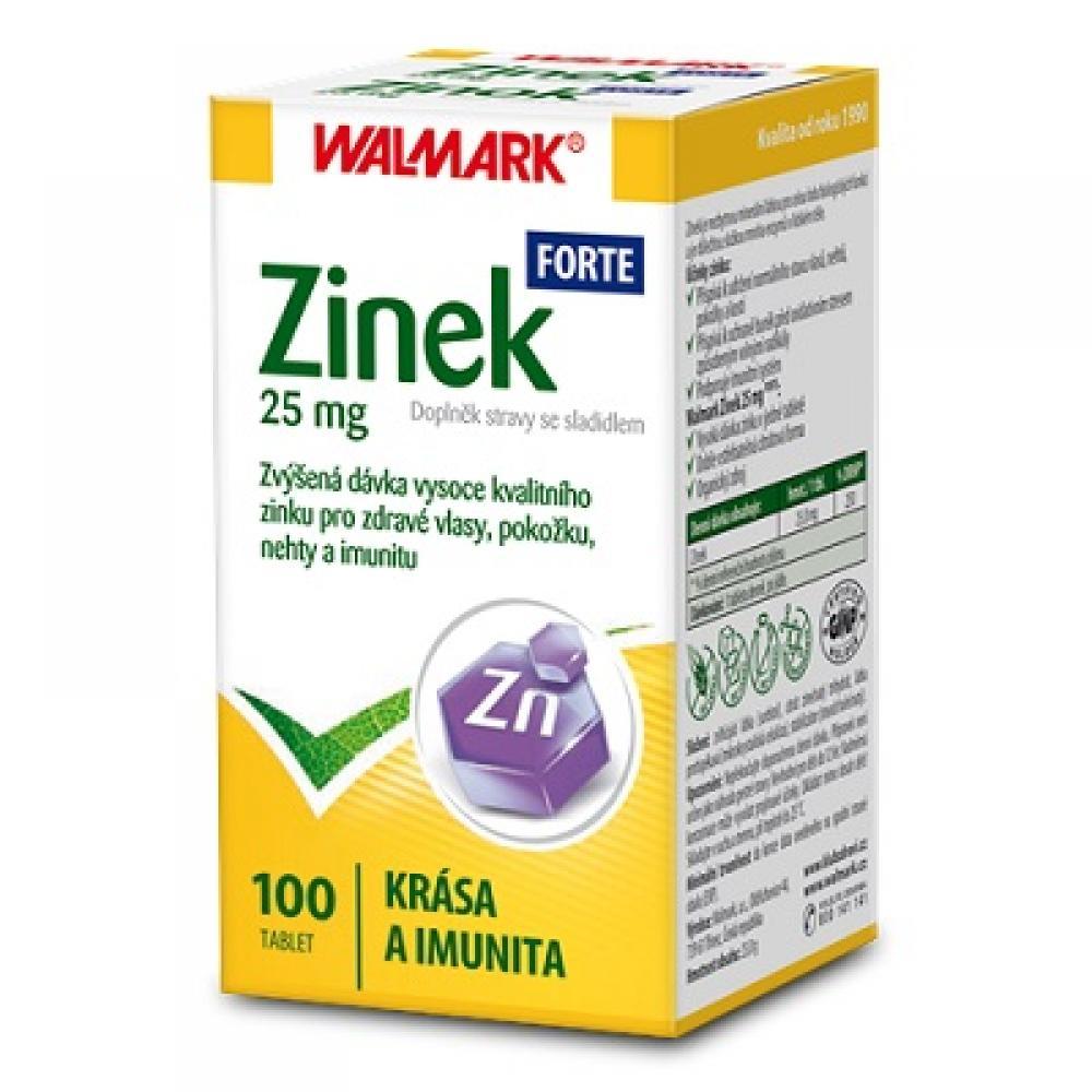 WALMARK Zinek Forte 25 mg 100 tablet