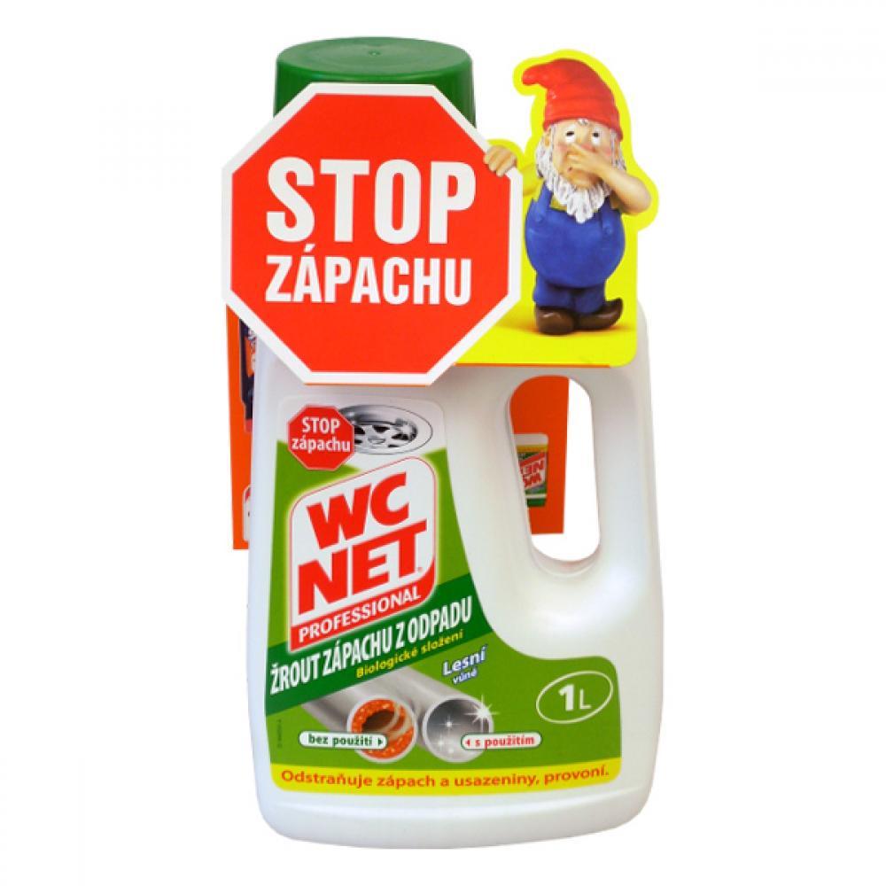 WC NET odstraňuje zápach z odpadu 1l
