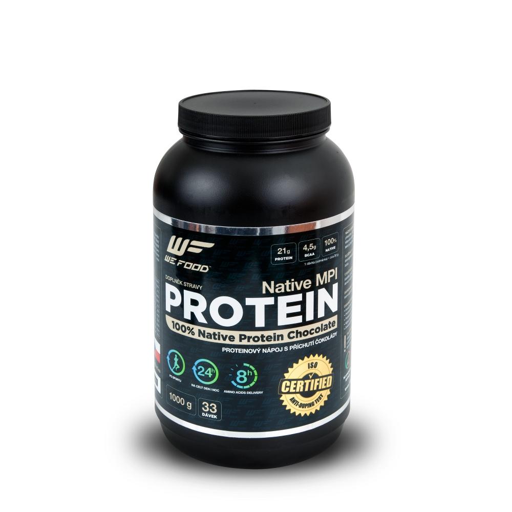 WEFOOD WeFood nativní mléčný protein Native MPI čokoláda 1000 g