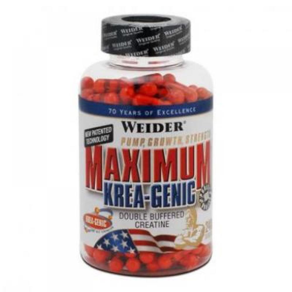 Maximum Krea-Genic, Kreatin, 240 kapslí, Weider