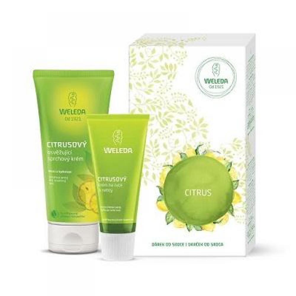 WELEDA Citrusová hydratační péče Dárkový balíček