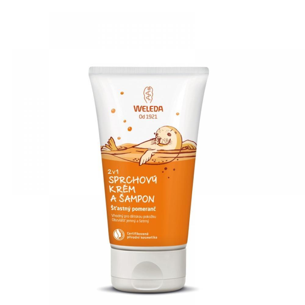 WELEDA Sprchový šampon 2v1 Veselá limetka 150 ml