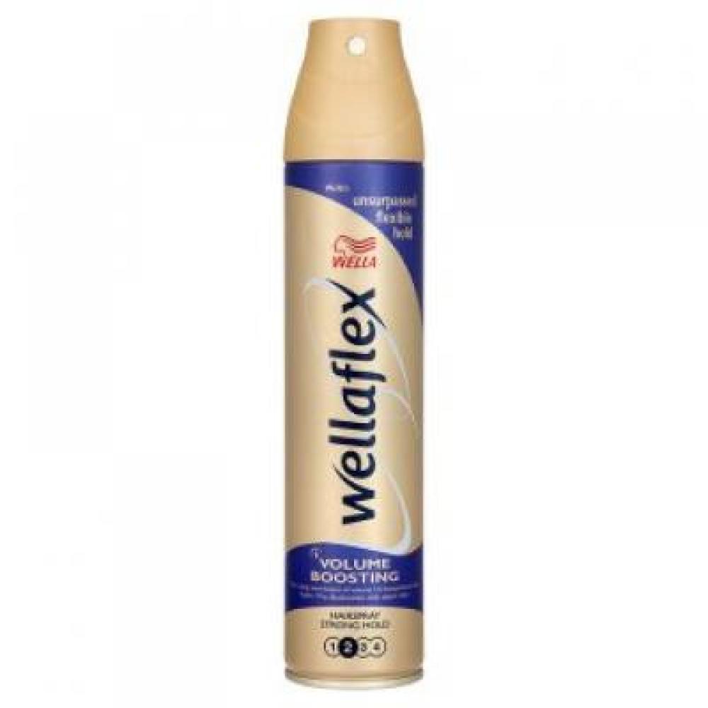 WELLAFLEX volume boost silně tužící lak 250ml