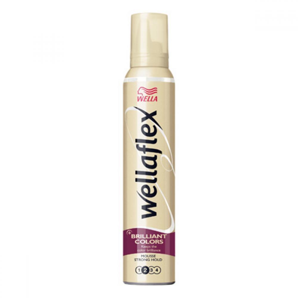 WELLAFLEX Brilliant pěnové tužidlo na barvené vlasy 200 ml