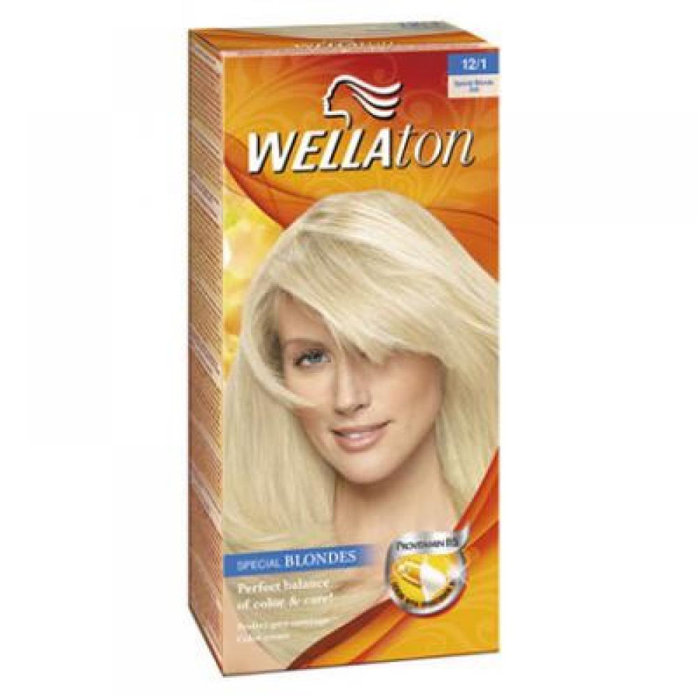 WELLATON barva na vlasy 121 popelavá blond