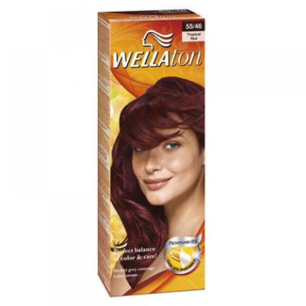 WELLATON barva na vlasy 5546 exotic červená