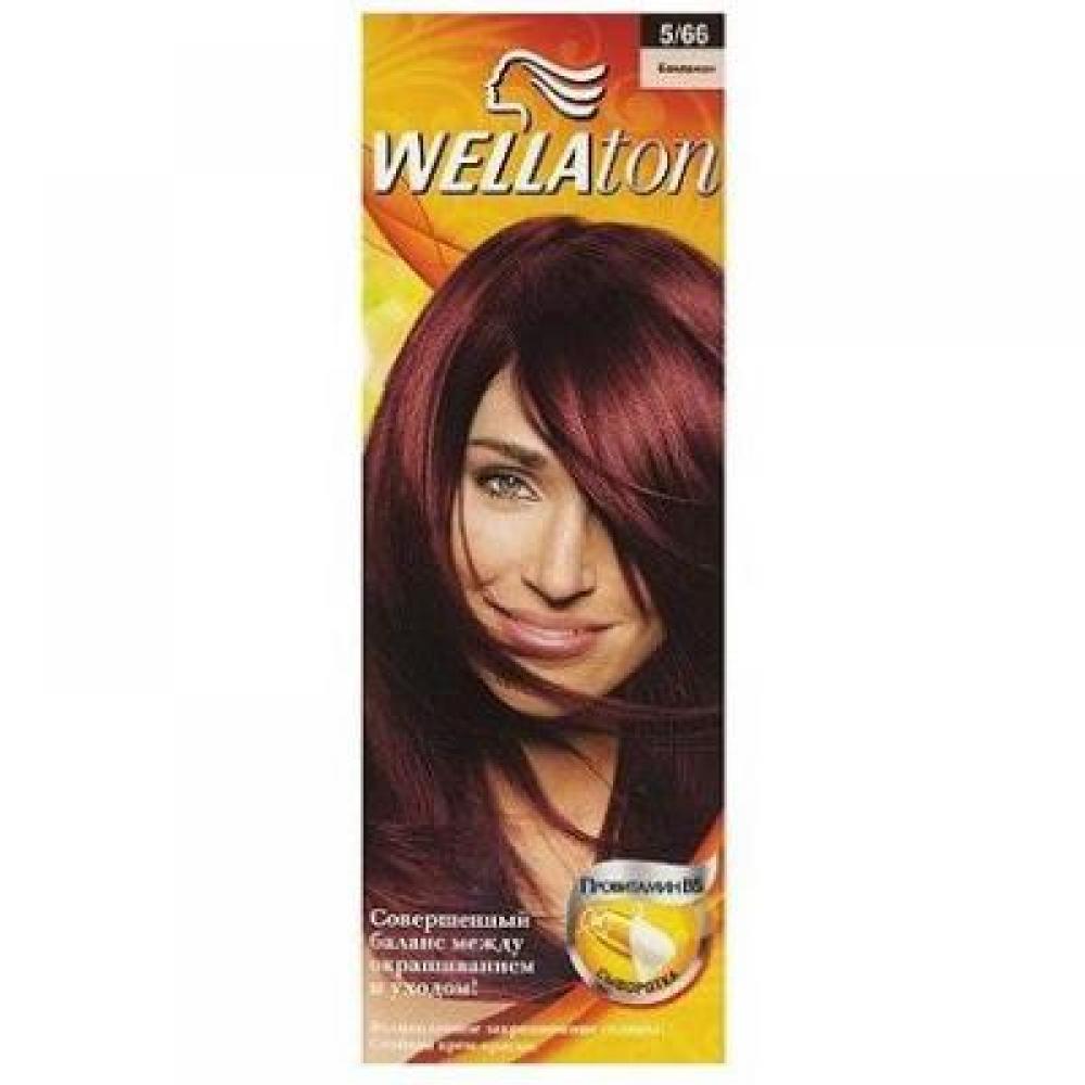 WELLATON barva na vlasy 566 aubergine