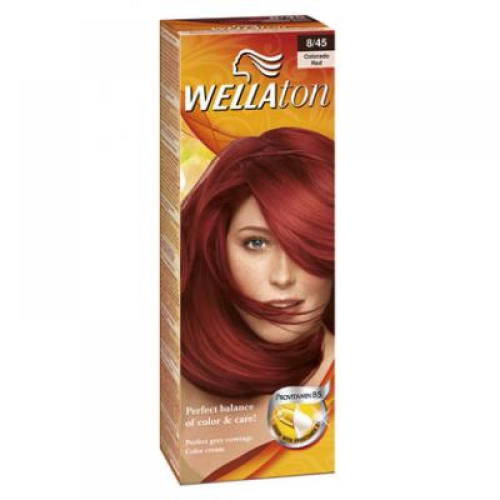 WELLATON barva na vlasy 845 granátově červená