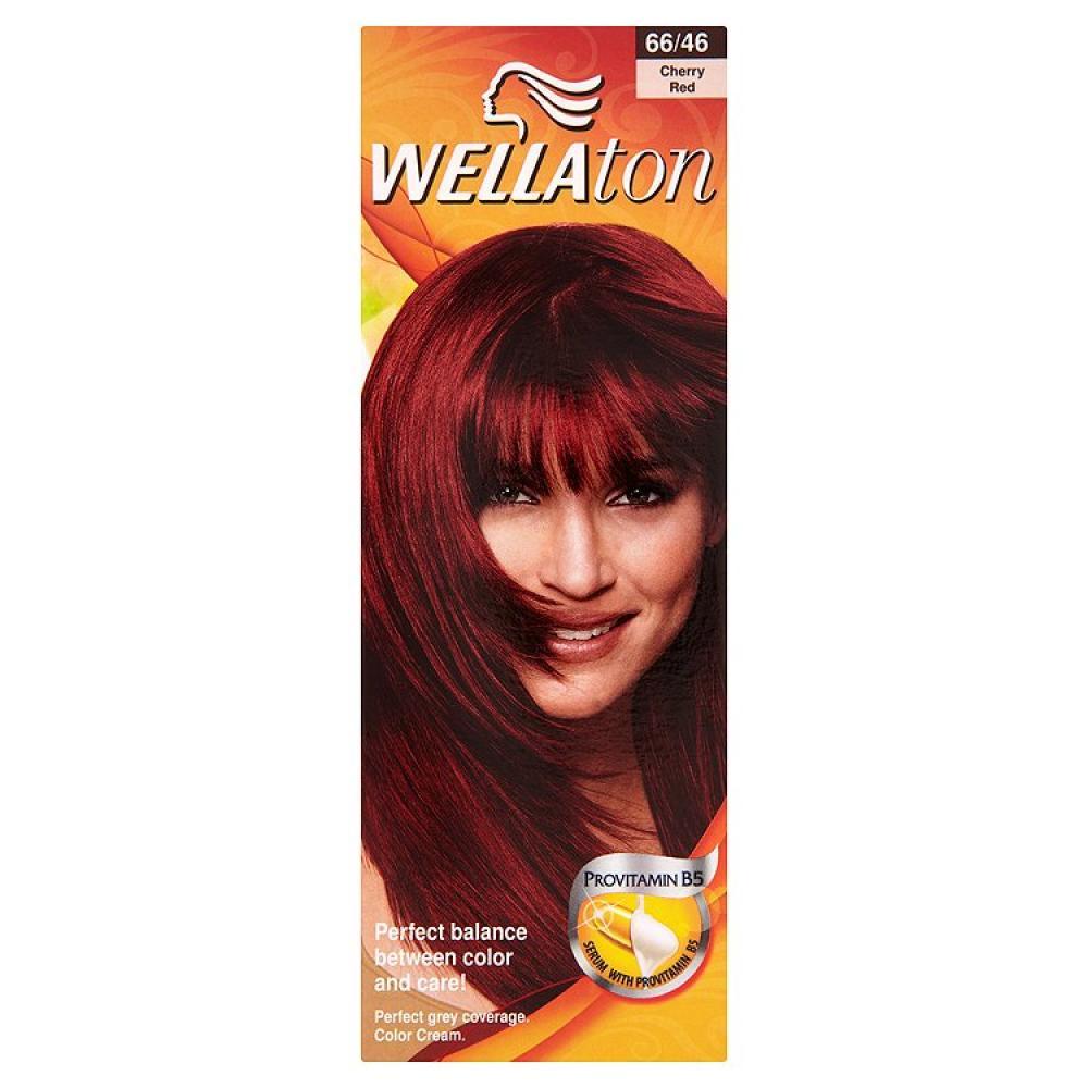 WELLATON barva na vlasy 6646 červená třešeň