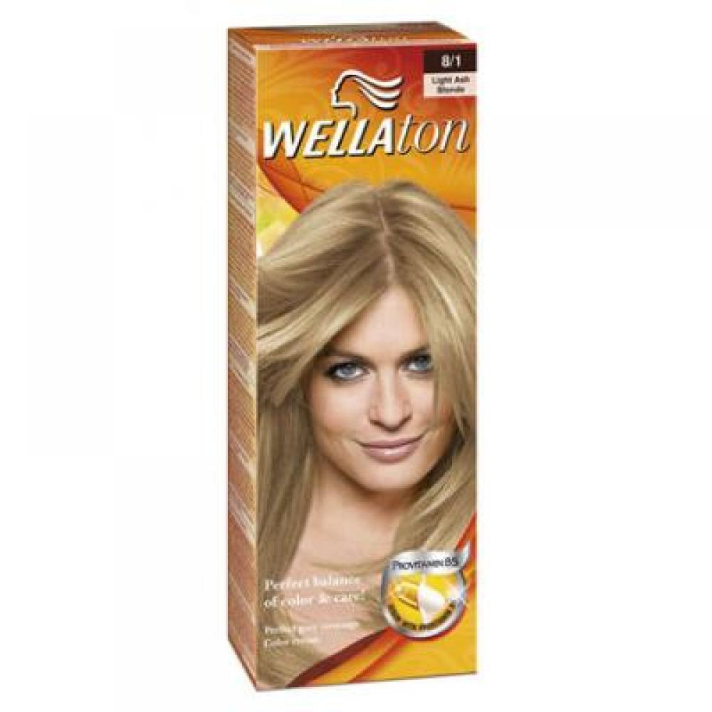 Wellaton barva na vlasy 81 světlá popelavá sérum