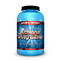 AMINOSTAR Actions Whey Gainer 15% 1000 g - Jahoda