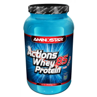 AMINOSTAR Whey protein actions 85% 2000 g banán