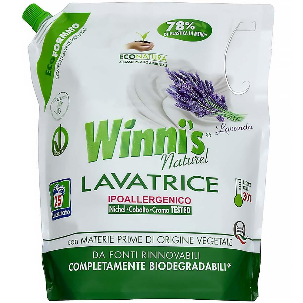WINNI´S Lavatrice Ecoformato Lavanda – hypoalergenní prací gel 1500 ml
