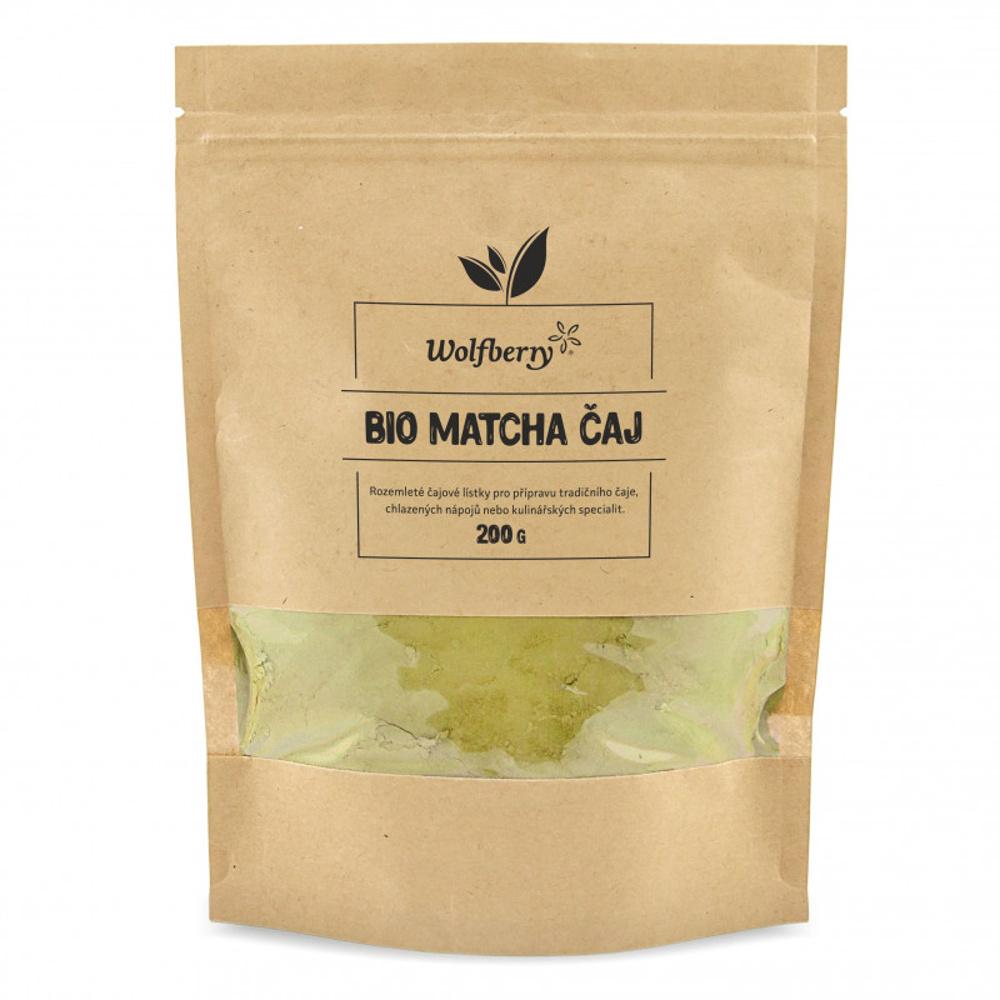 WOLFBERRY Matcha čaj 200 g BIO