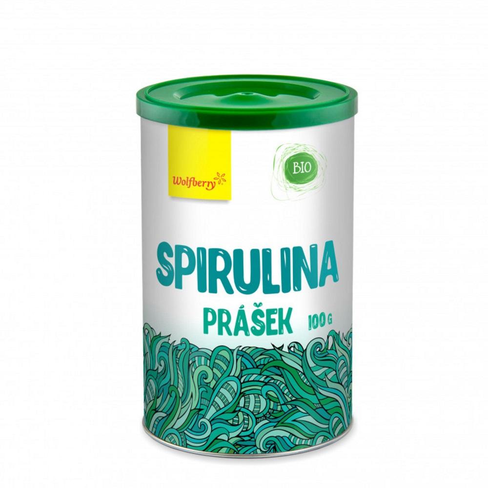 WOLFBERRY Spirulina prášek BIO 100 g