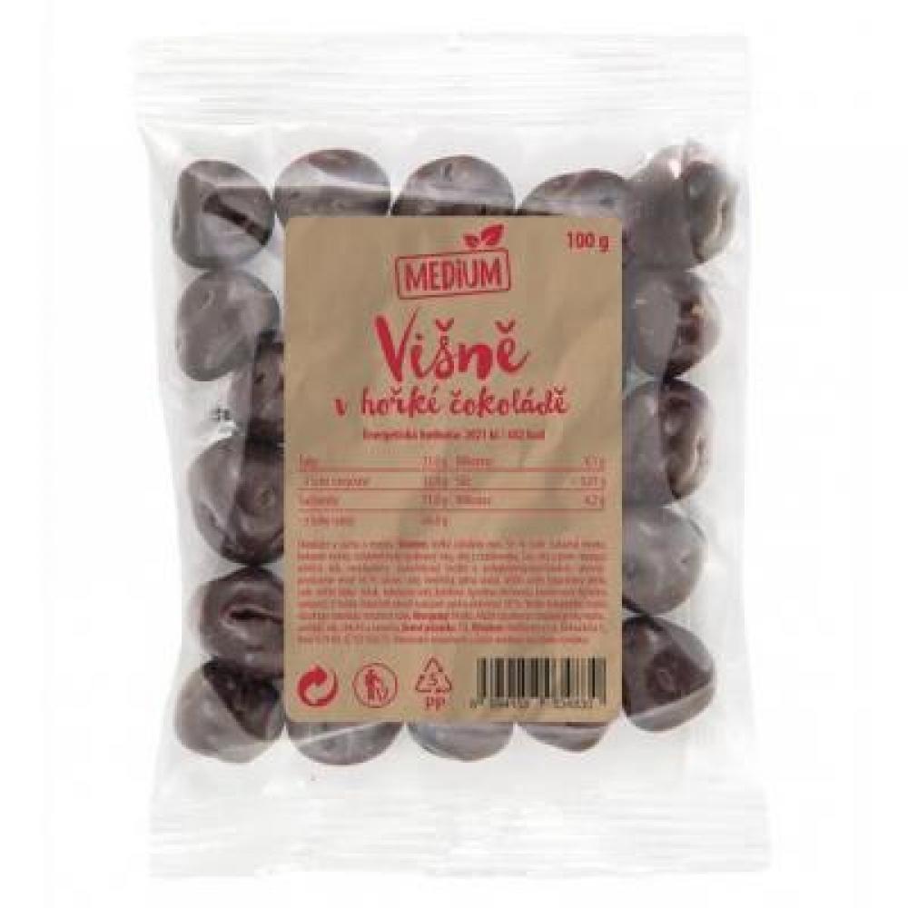 WOLFBERRY Višně v hořké čokoládě Medium 100 g