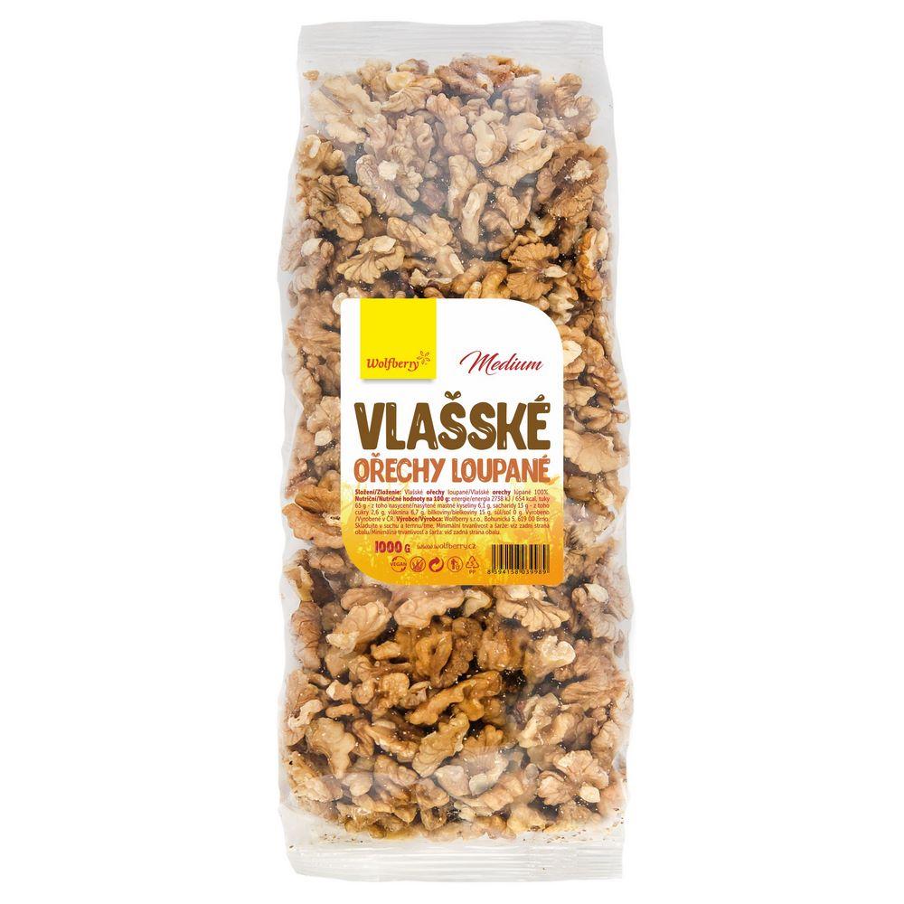 WOLFBERRY Vlašské ořechy loupané 1 kg