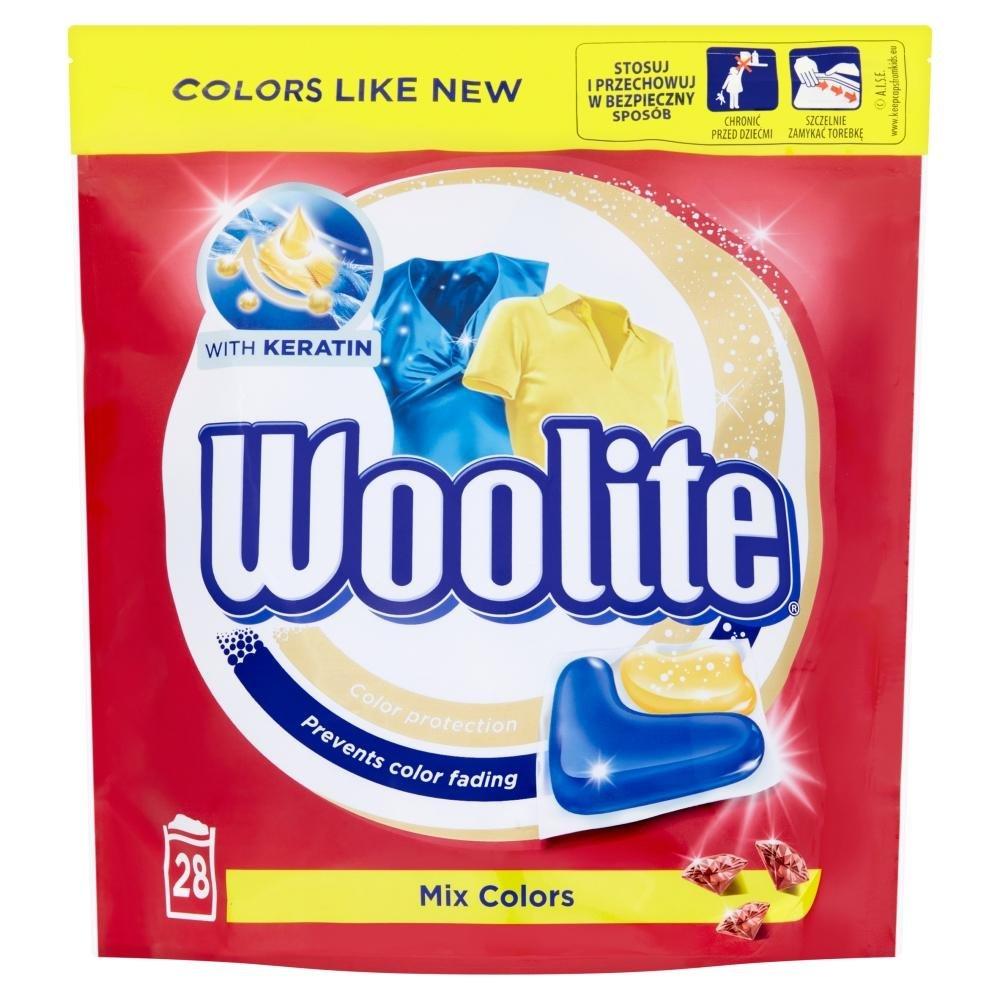WOOLITE Mix Colors gelové kapsle 28 ks