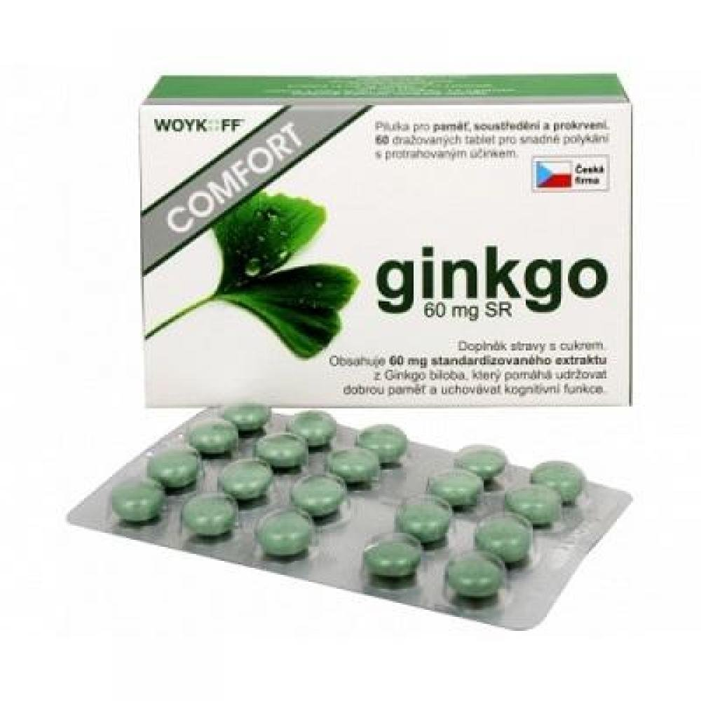 WOYKOFF Ginkgo COMFORT 60 tablet