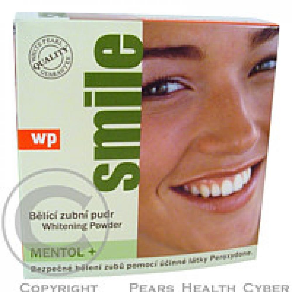 WP SMILE Mentol 30 g bělící zubní pudr