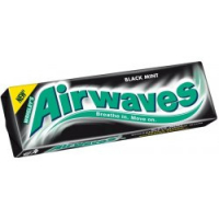 WRIGLEYS Airwaves Black Mint dražé 10ks
