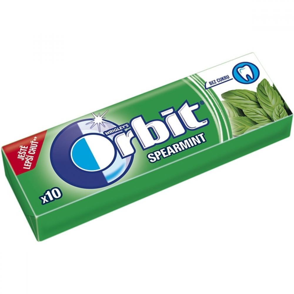 ORBIT Spearmint žvýkačky dražé 10 ks
