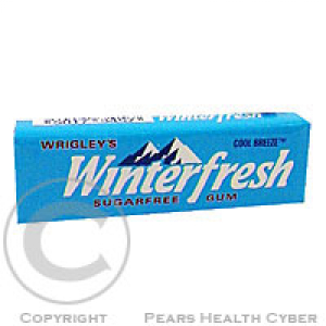 WRIGLEYS Winterfresh Cool Breeze drg.žvýk.10ks