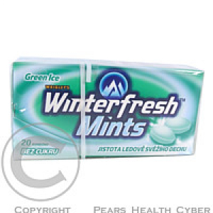 WRIGLEYS Winterfresh Green Ice Mint 20ks
