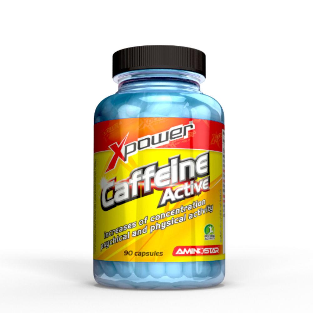 AMINOSTAR Xpower Caffeine Active 90 kapslí