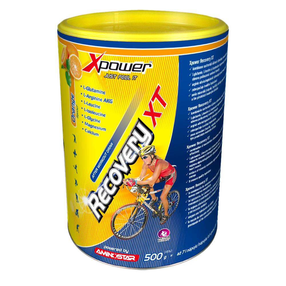 AMINOSTAR XPOWER Recovery XT pomeranč 500 g