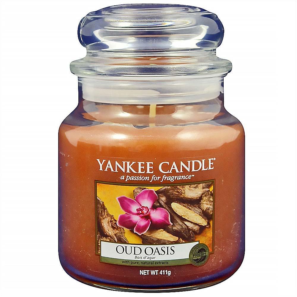 YANKEE CANDLE Classic Oud Oasis střední 411 g
