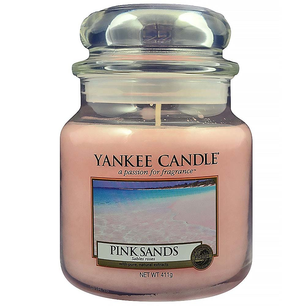 YANKEE CANDLE Classic Pink Sands střední 411 g
