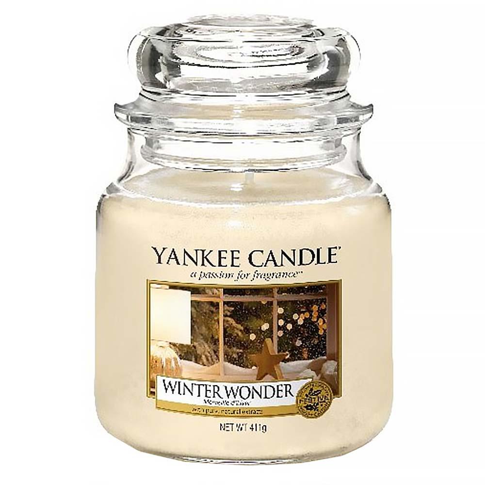YANKEE CANDLE Classic střední Winter Wonder 411 g