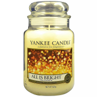 YANKEE CANDLE Classic All is Bright velký 623 g
