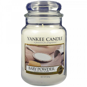 YANKEE CANDLE Classic Baby Powder velký 623 g