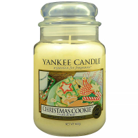 YANKEE CANDLE Classic Christmas Cookie velký 623 g