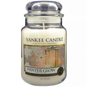 YANKEE CANDLE Classic Winter Glow velký 623 g