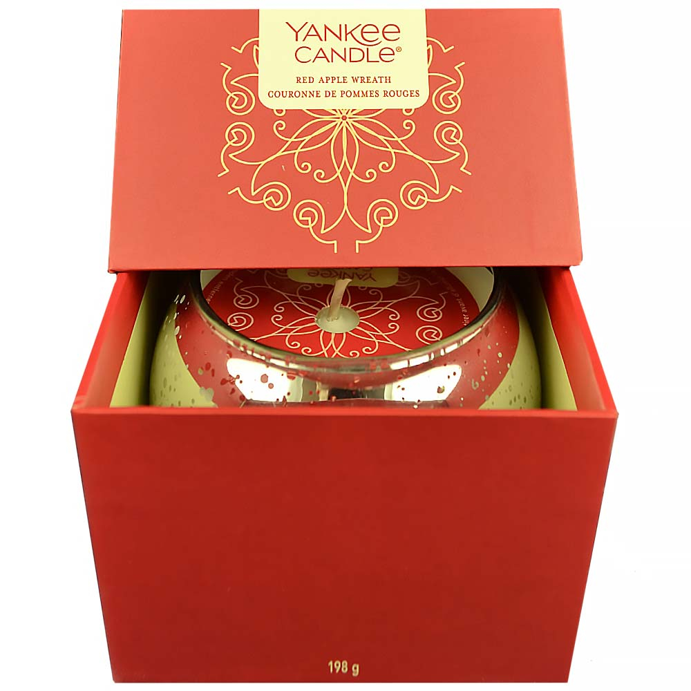 YANKEE CANDLE Dárkový box Red Apple Wreath 198 g