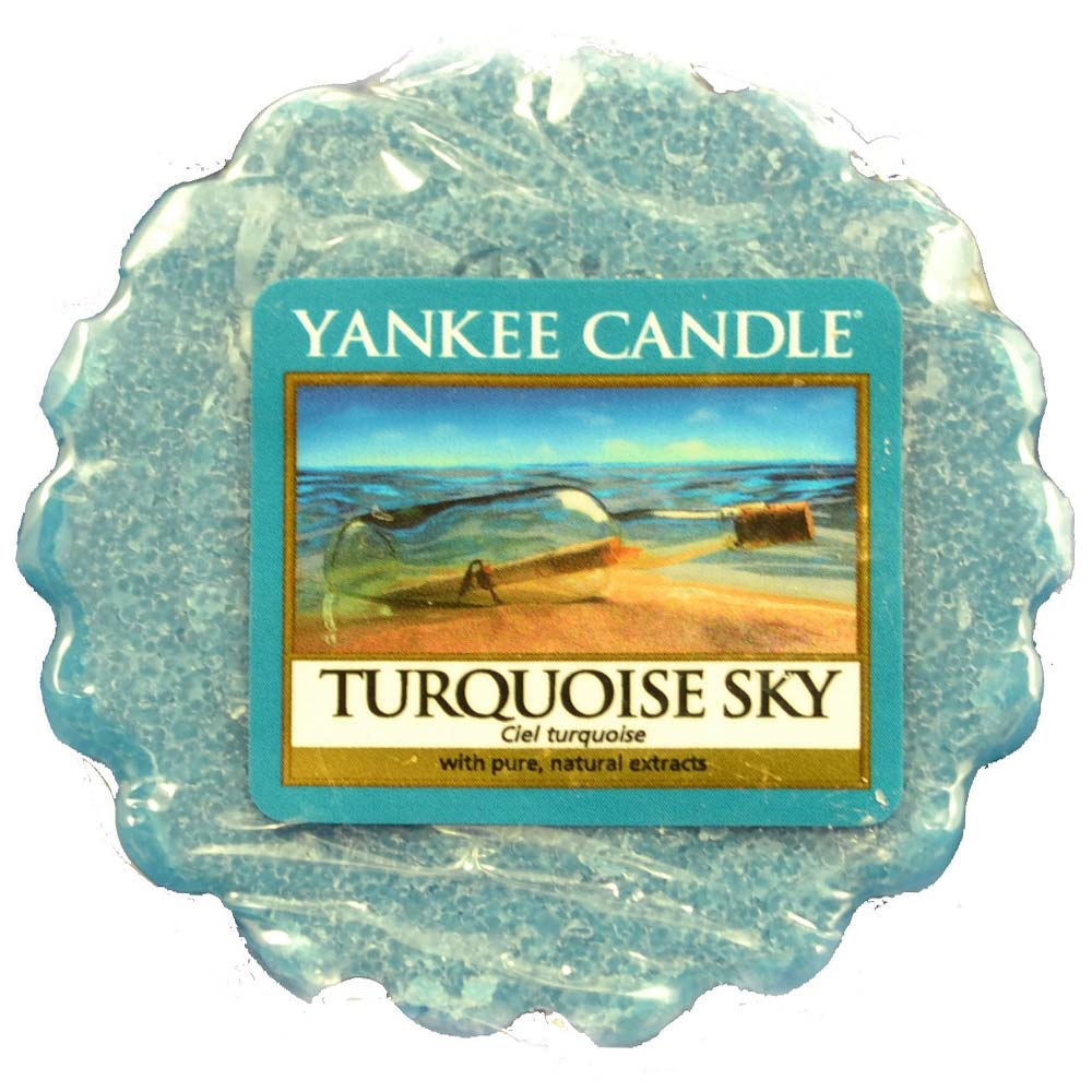 YANKEE CANDLE vonný vosk Turquoise Sky 22 g
