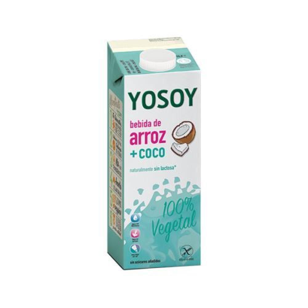 YOSOY Rýžový nápoj kokosový 1 l