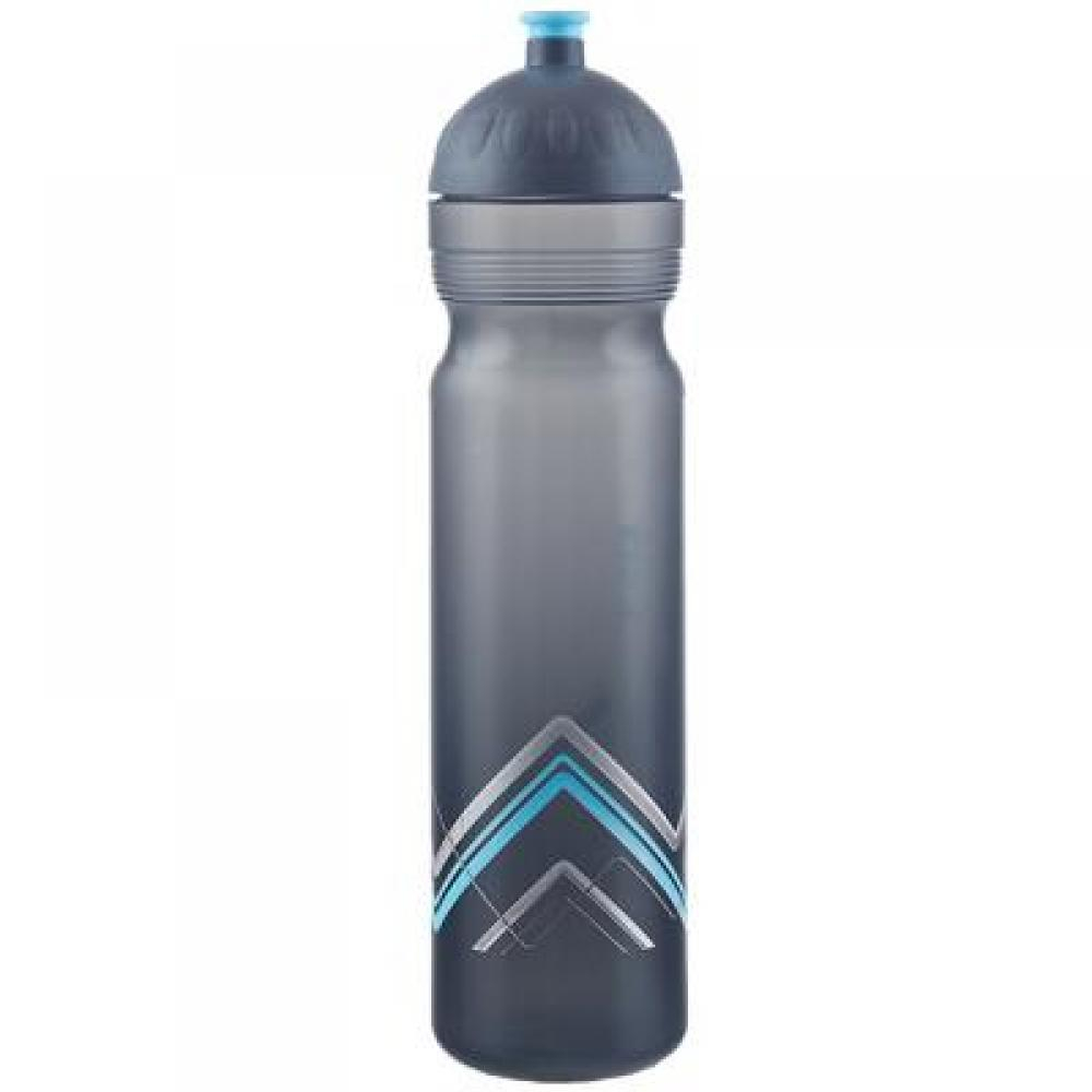 Zdravá lahev Bike-Hory modrá 1 l