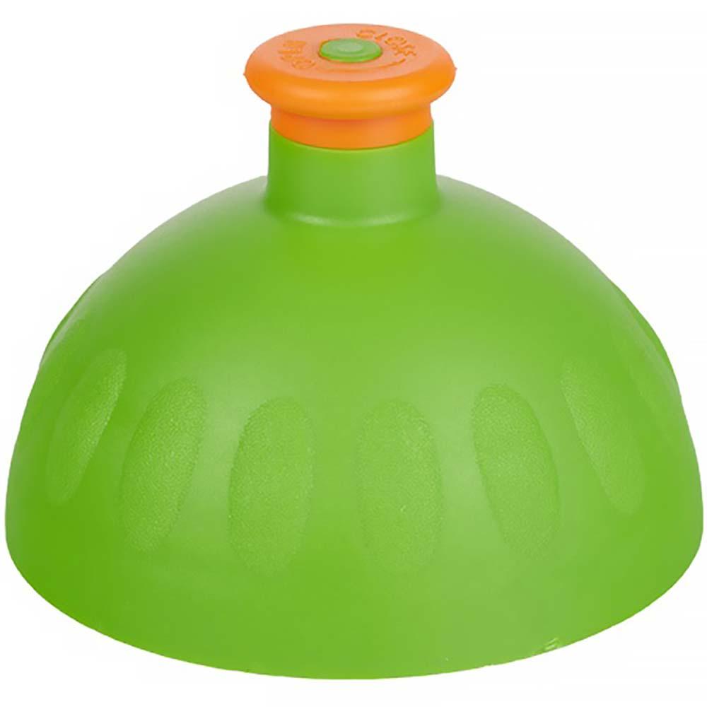 ZDRAVÁ LAHEV Víčko zelené/zátka oranžová