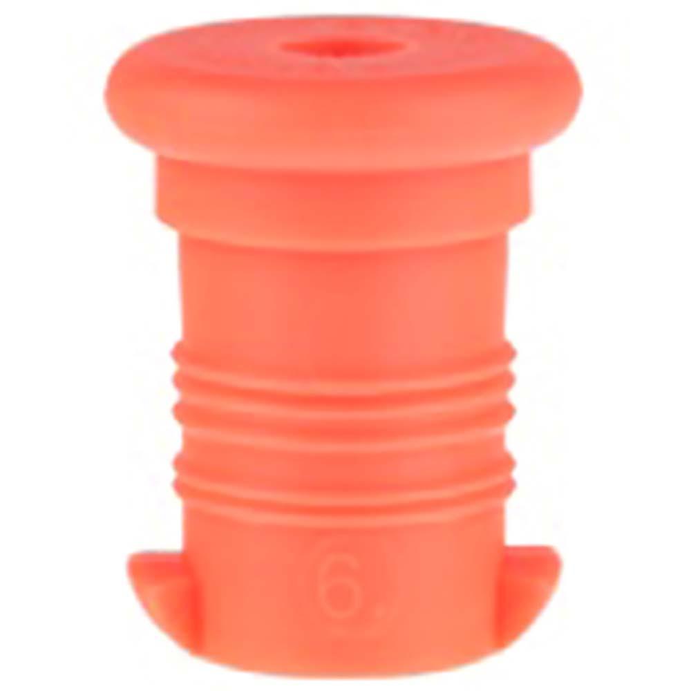 ZDRAVÁ LAHEV Zátka oranžová fluo