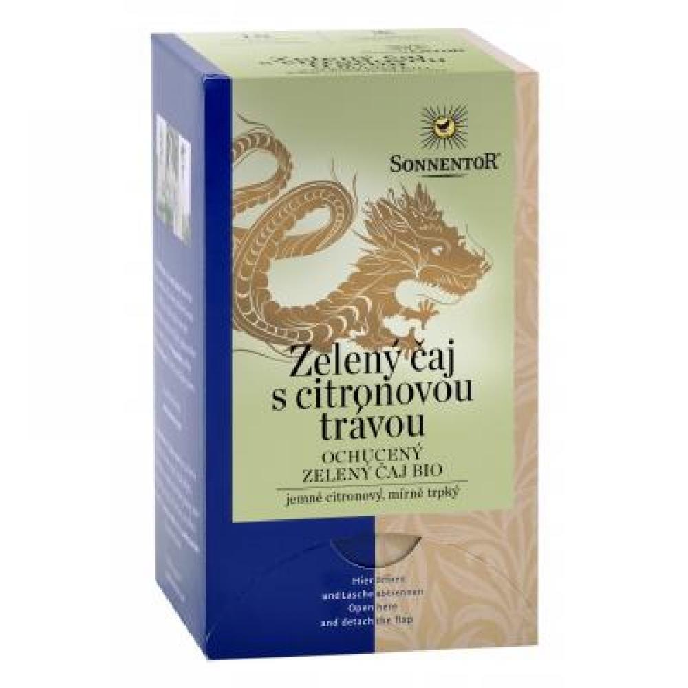 Sonnentor Zelený čaj citronová tráva bio porcovaný 21,6 g