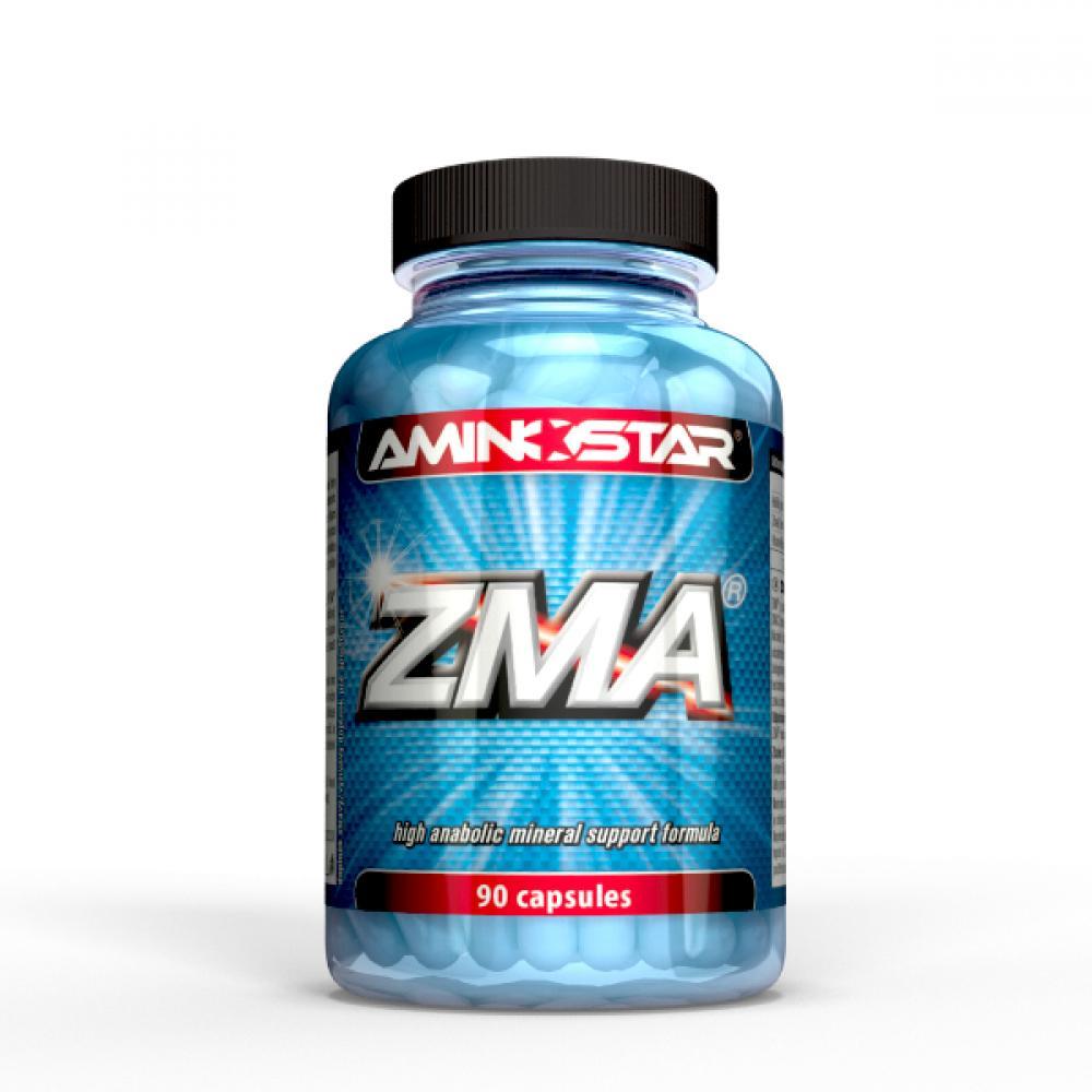 Výsledek obrázku pro Aminostar ZMA 90 kapslí