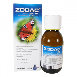 ZODAC SIR  1X100ML Sirup