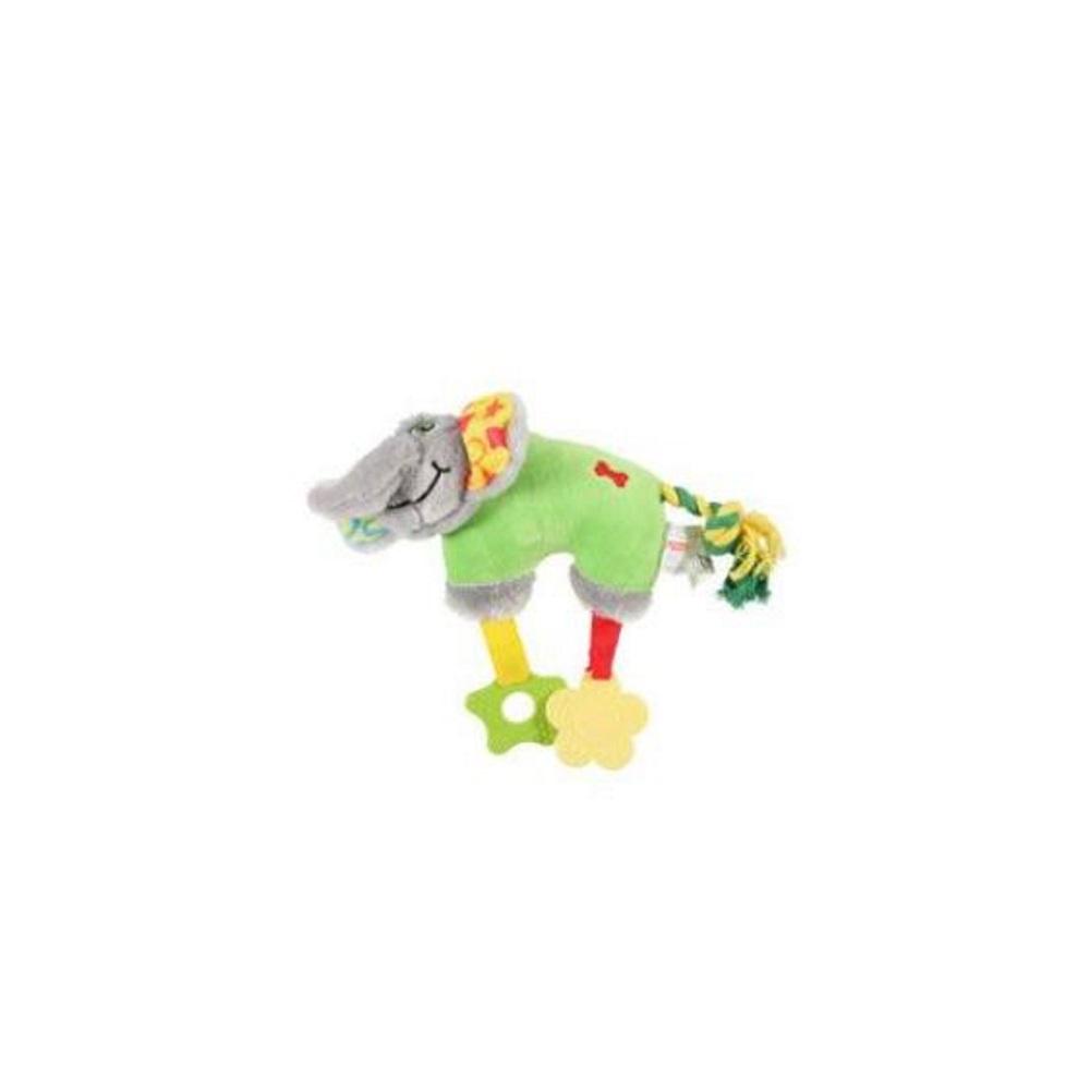 ZOLUX Hračka pes ELEPHANT COLOR plyš zelená 20 cm