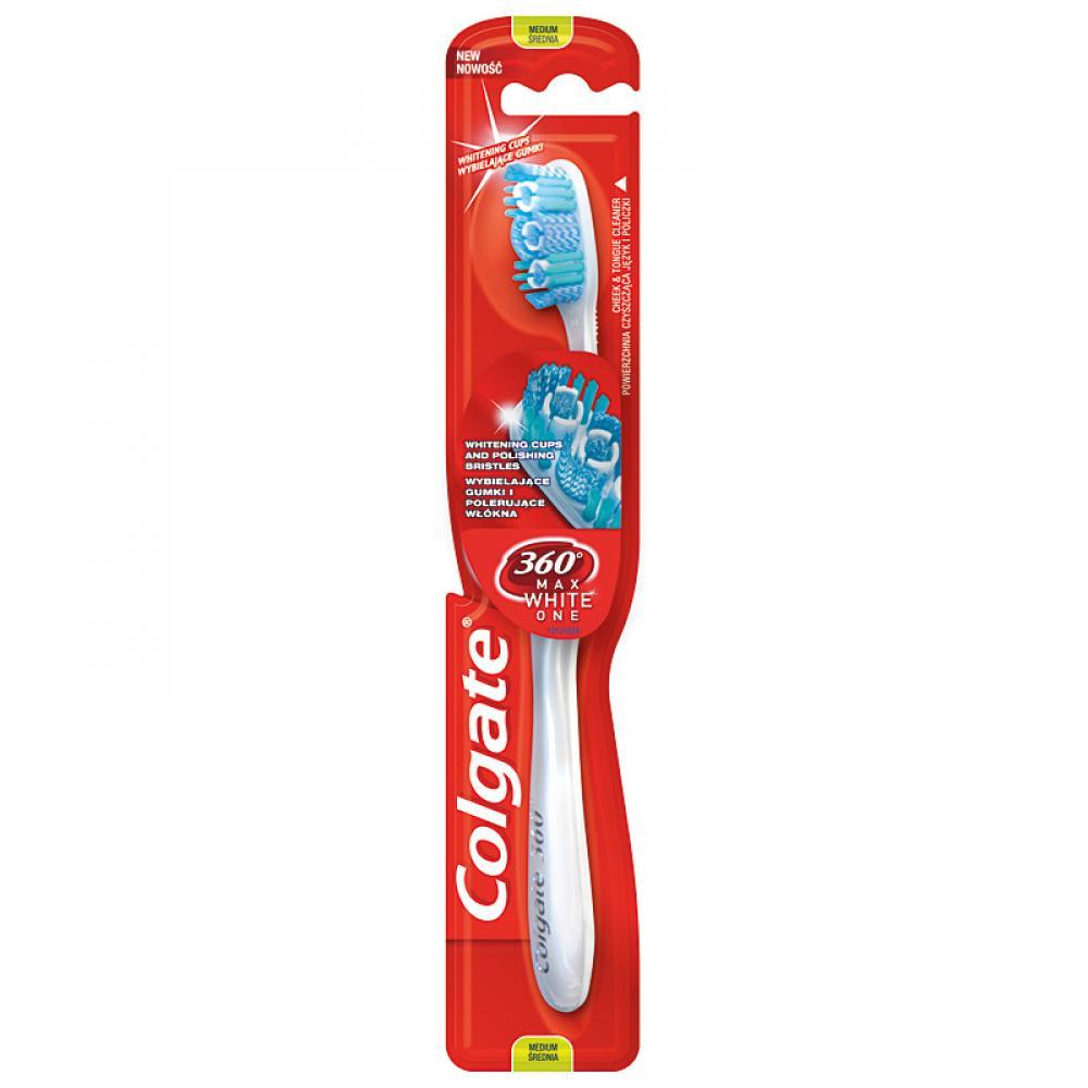 Zubní kartáček Colgate 360 Max white one