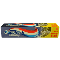 Zubní pasta aquafrsh whitening&complete care 125 ml